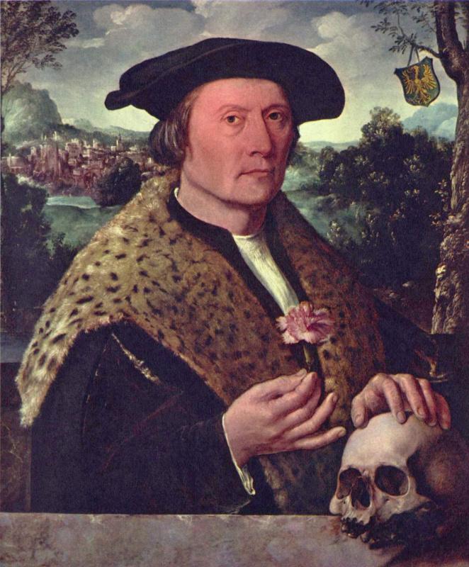 Dirk Jacobs. Portrait Of Pompeius OKKO