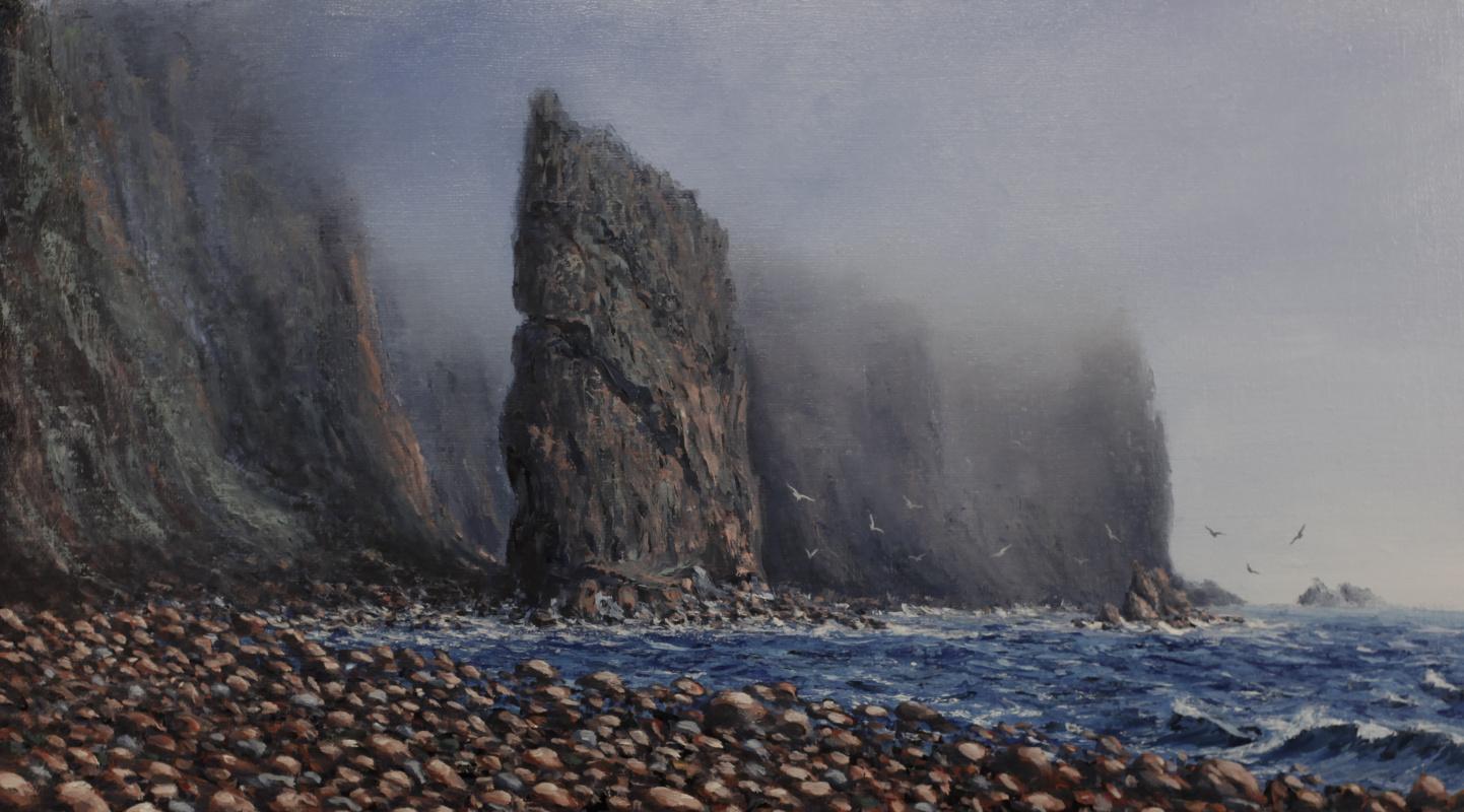 Valery Levchenko. No. 90 rocky beach