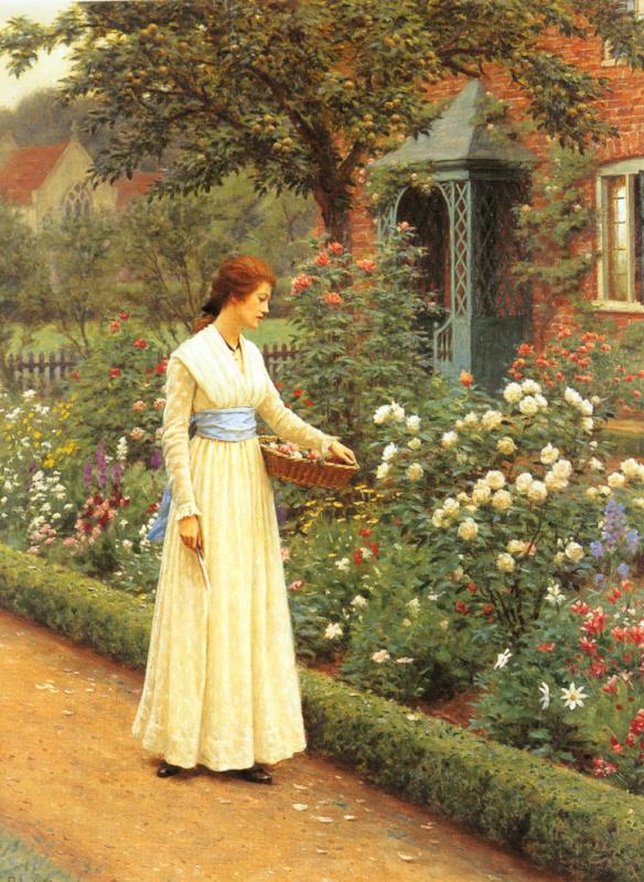 Джон Хейтер. Летние розы