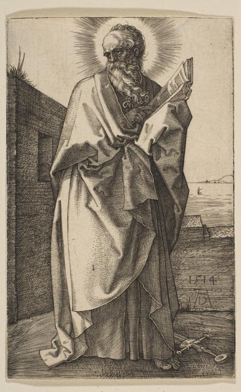 Albrecht Durer. The Apostle Paul
