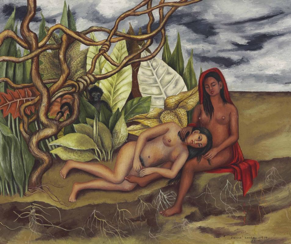 Фрида Кало. Две обнажённые в лесу