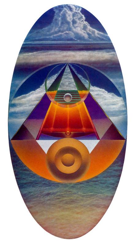 Томас Акави. Облачное зеркало