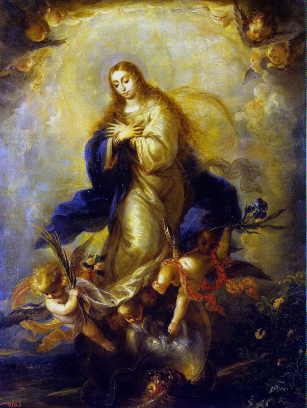 MATEO Cerezo Jr.. Immaculate conception