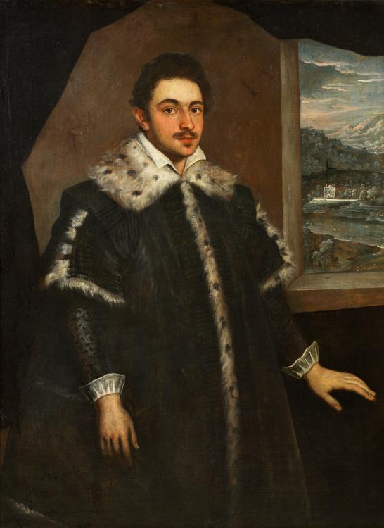 Тинторетто (Доменико Робусти). Мужской портрет
