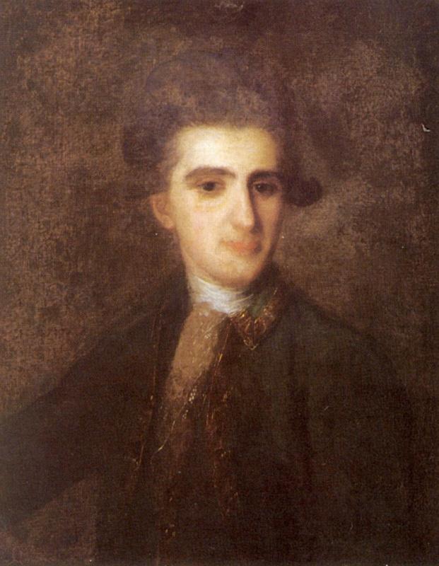 Fedor Stepanovich Rokotov. Portrait Of Nikolai Eremeevicha Troickogo