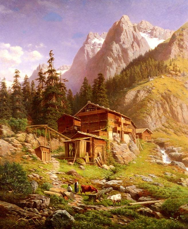 Георг Энгельгардт. В горах