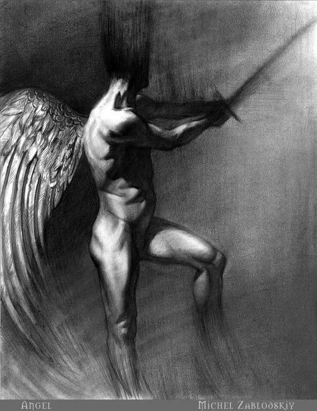 Михаил Заблодский. Ангел