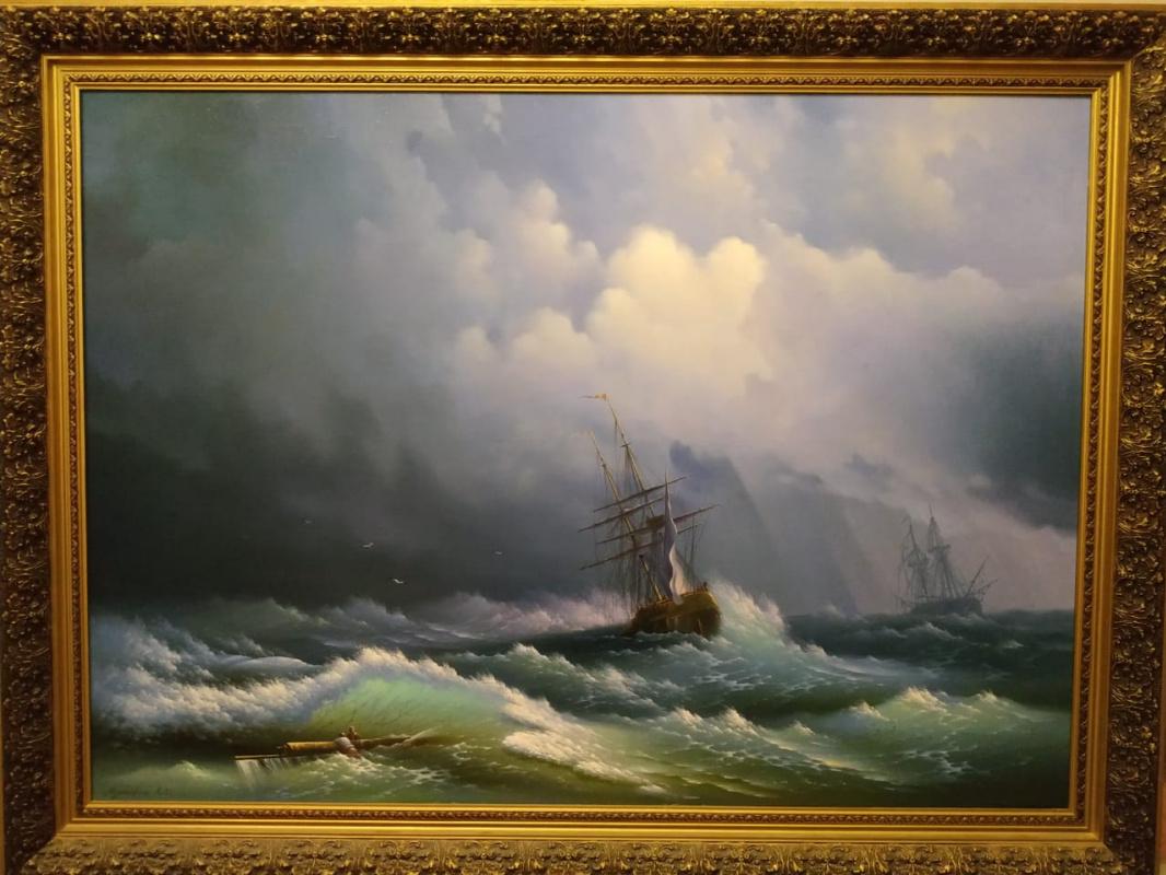 Eugene Salikhovich Mustafin. Storm