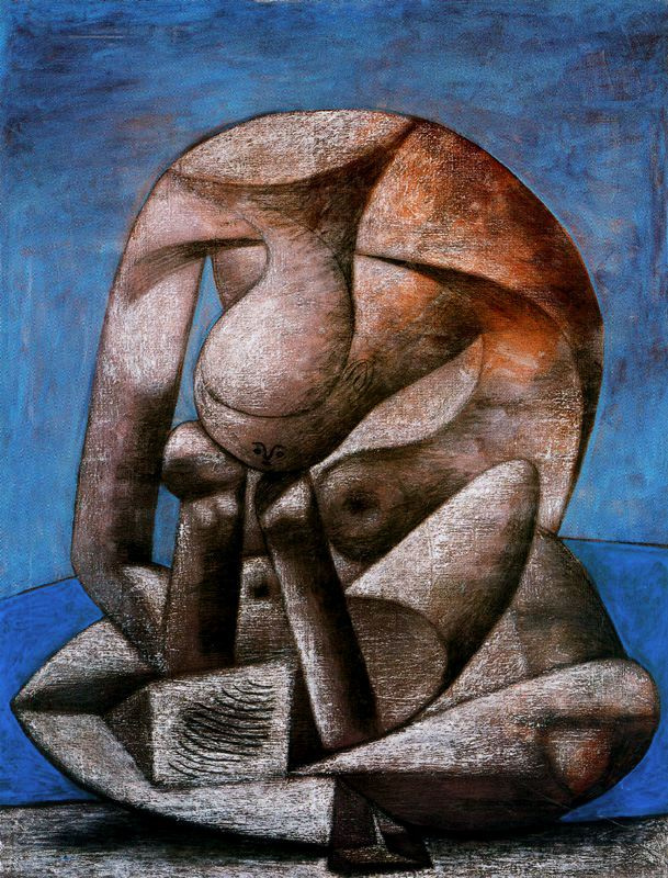 Пабло Пикассо. Купальщица