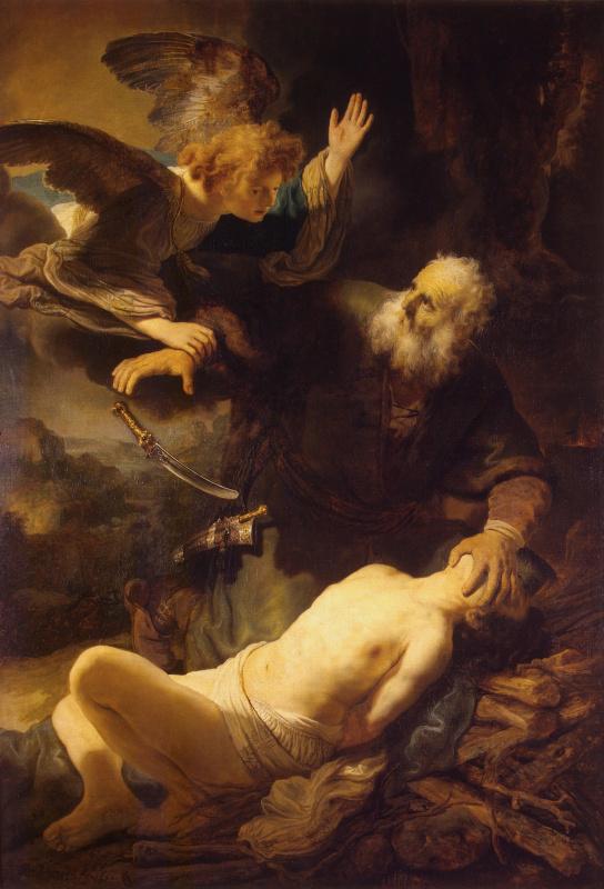Рембрандт Харменс ван Рейн. Жертвоприношение Авраама