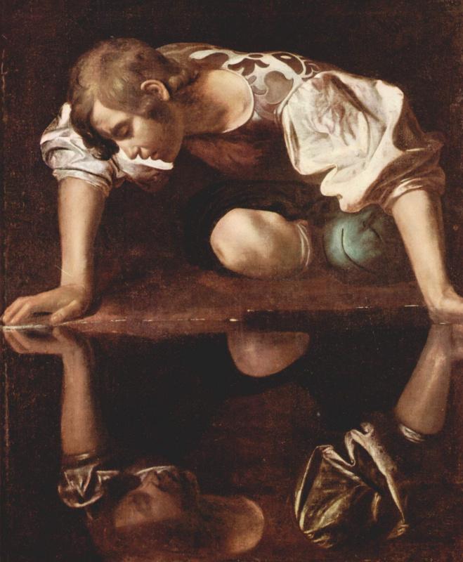 Michelangelo Merisi de Caravaggio. Narcissus