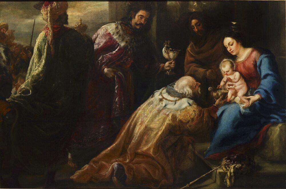 Juan Carreno de Miranda. Поклонение волхвов