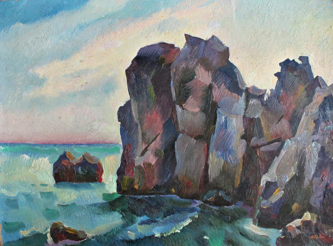 Victor Ashotovich Abrahamyan. Gurzuf rocks