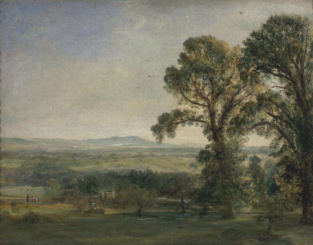 John Constable. Bardon Hill