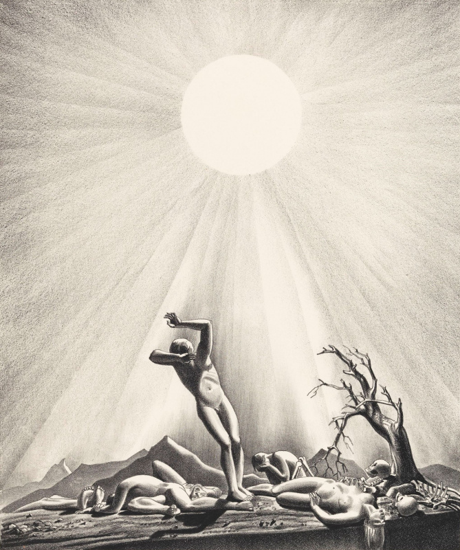 Рокуэлл Кент. Солнечная вспышка