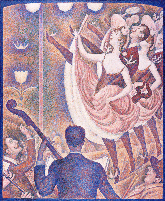 "Georges Seurat. Sketch for ""Cabaret"""