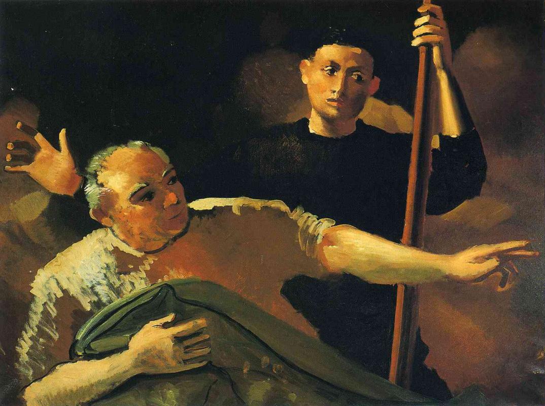 Andre Derain. Two men