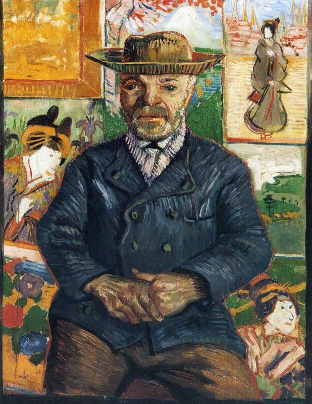 Винсент Ван Гог. Портрет Папаши Танги (второй вариант)