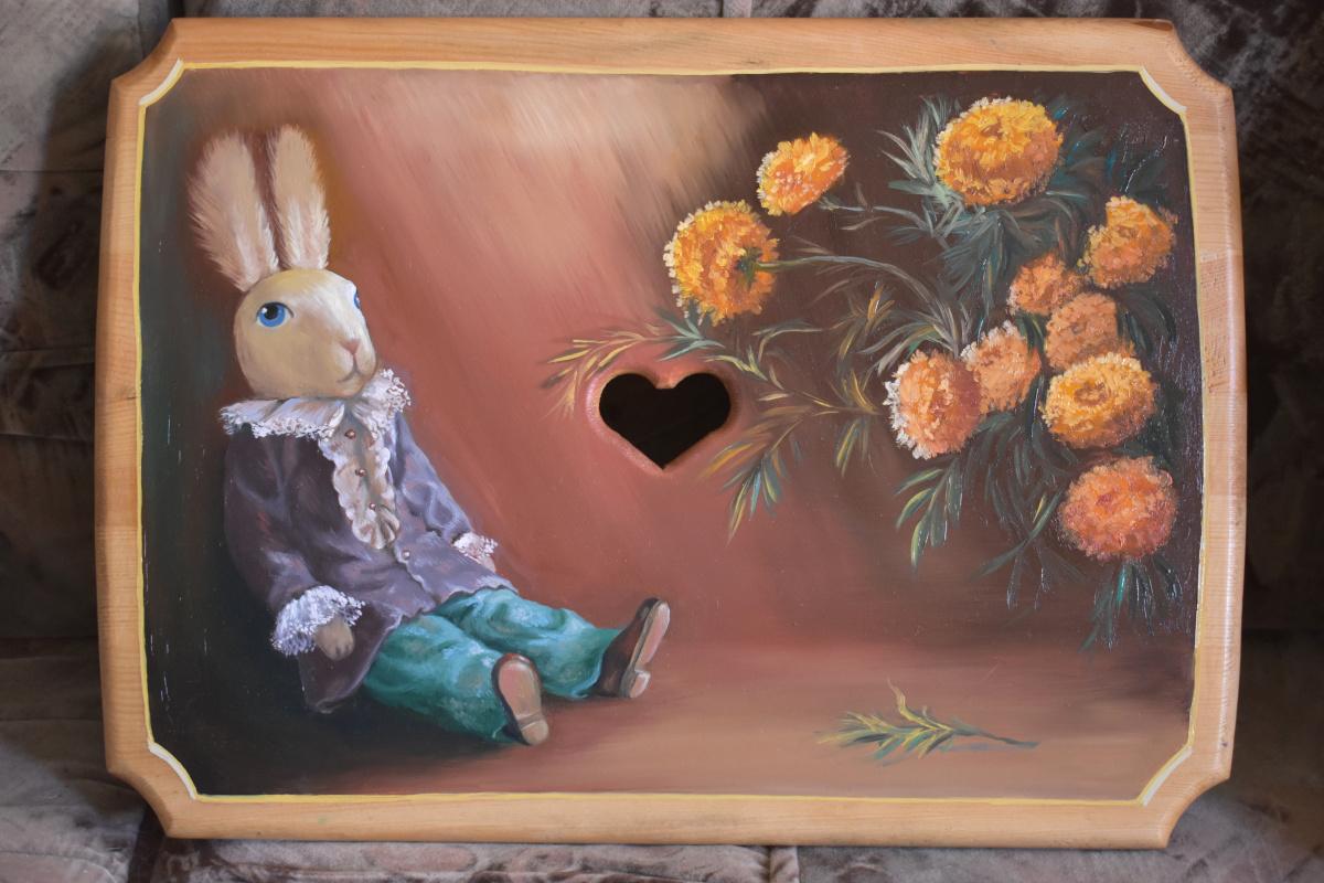 Julia Alekseevna Yalunina. Rabbit edward