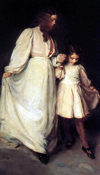 Сесилия Бо. Девушка с девочкой