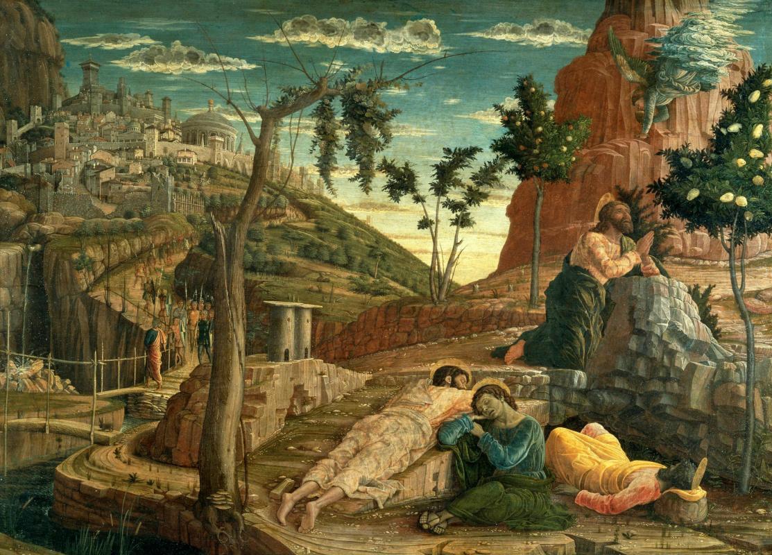 Andrea Mantegna. Agony in the garden