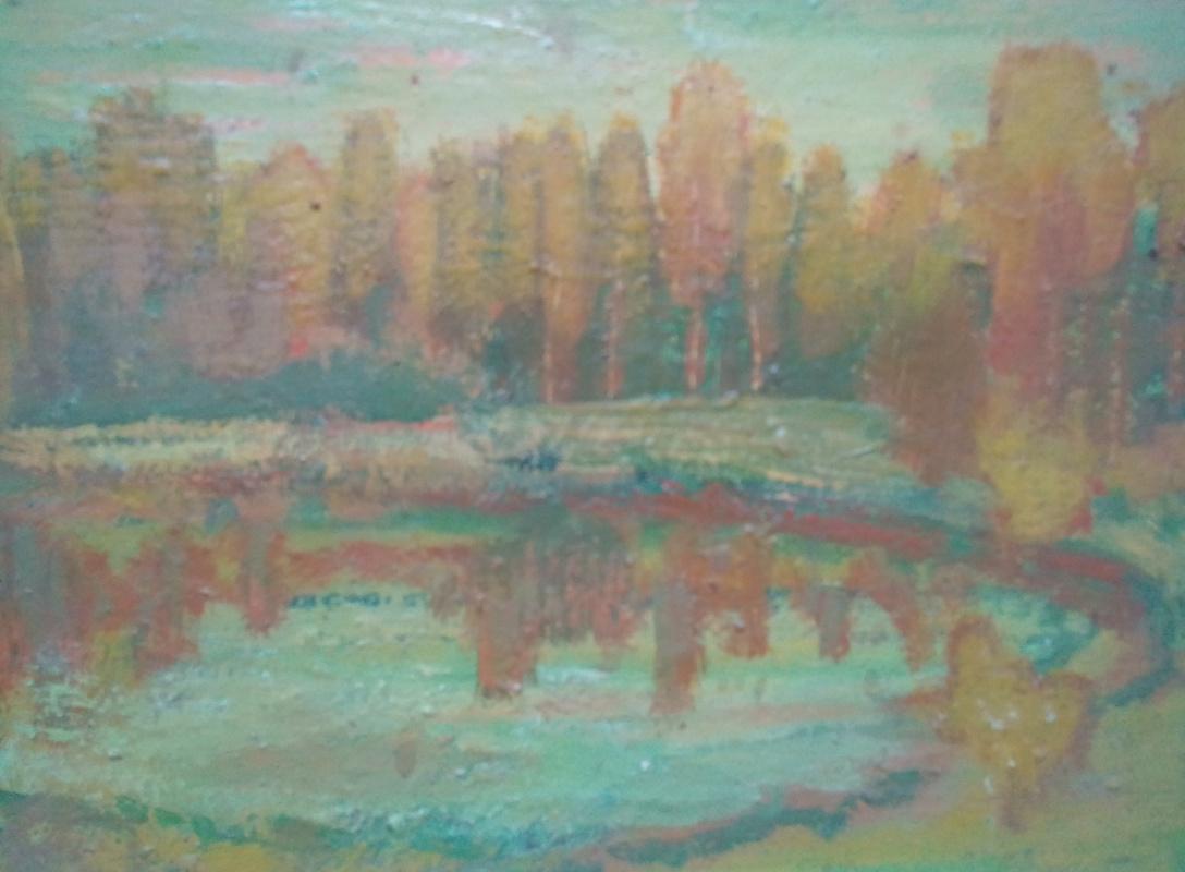 Вячеслав Коренев. Лесной водоём