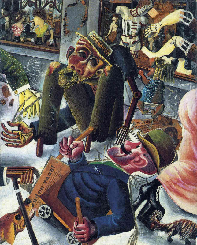 Otto Dix. Chaos on the street