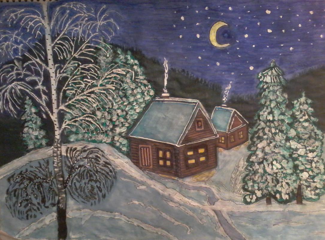 Mariya Pretser. Christmas Eve