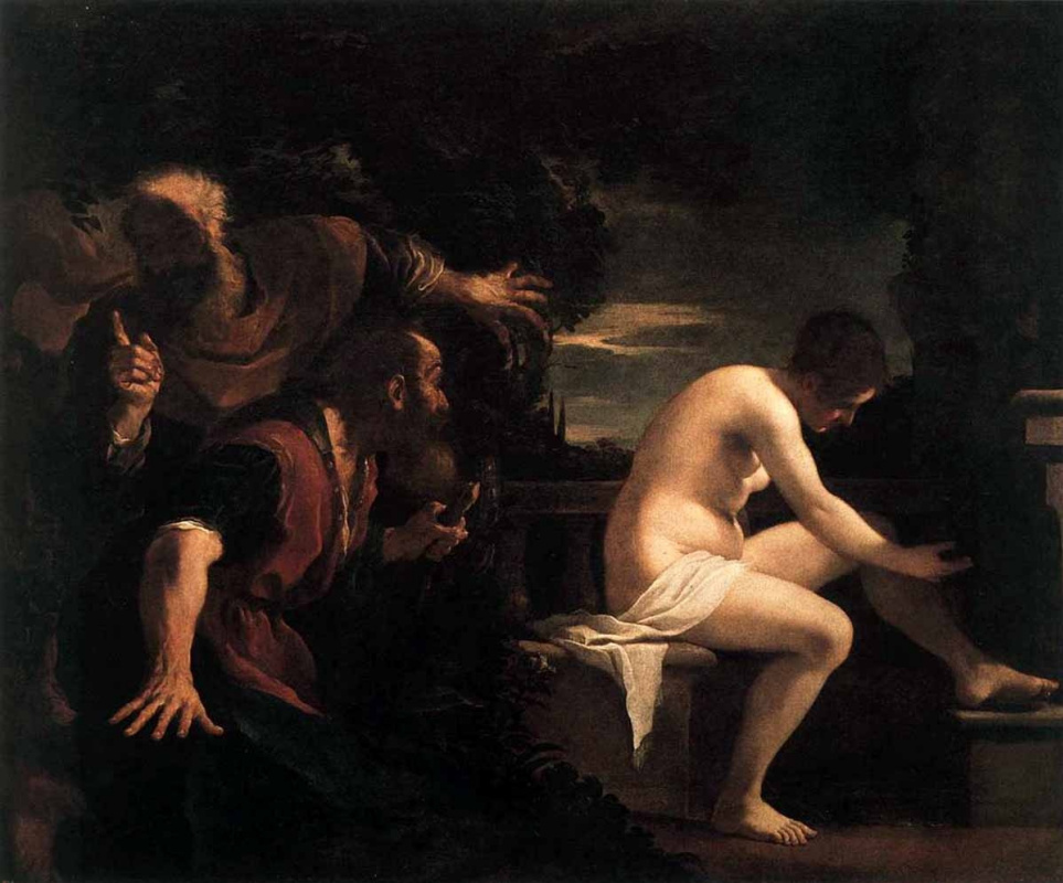 Giovanni Francesco Guercino. Susanna and the elders