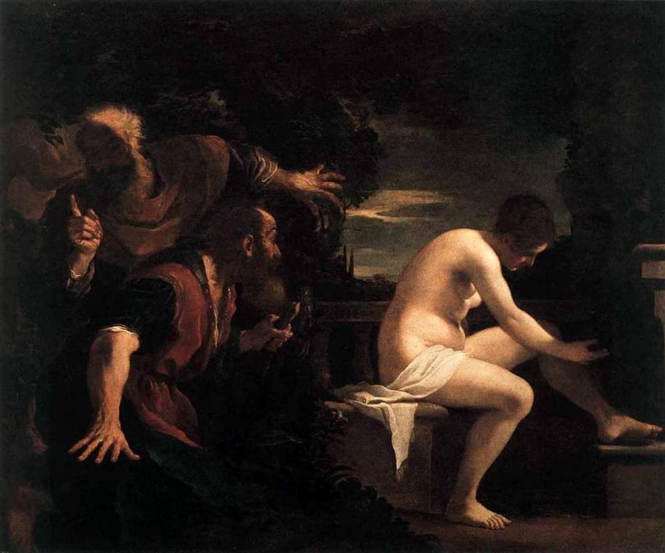 Giovanni Francesco Guercino. Susanna and the elders