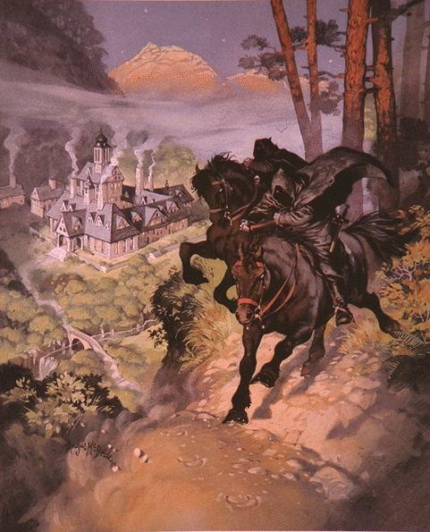 Глен Ангус. Черные всадники - Назгулы