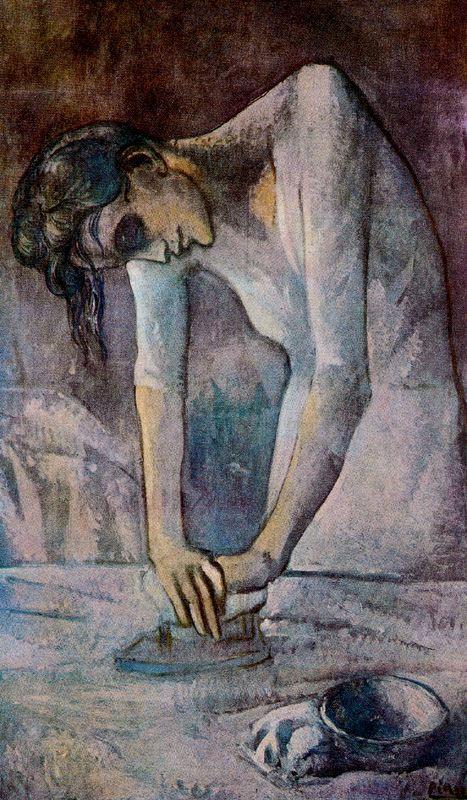 Пабло Пикассо. Хозяйка