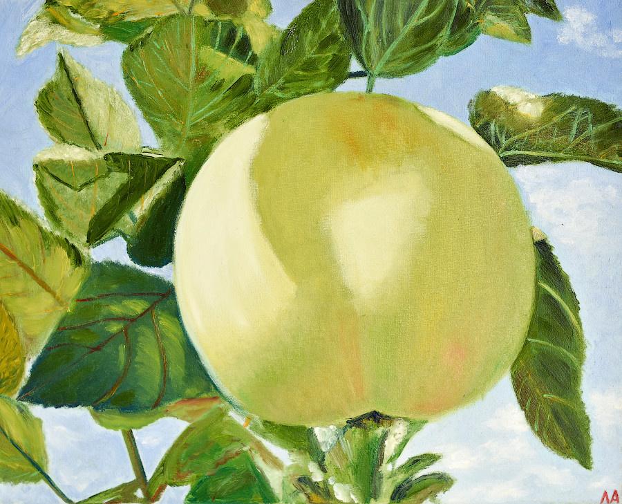 Larisa Isakova. An Apple
