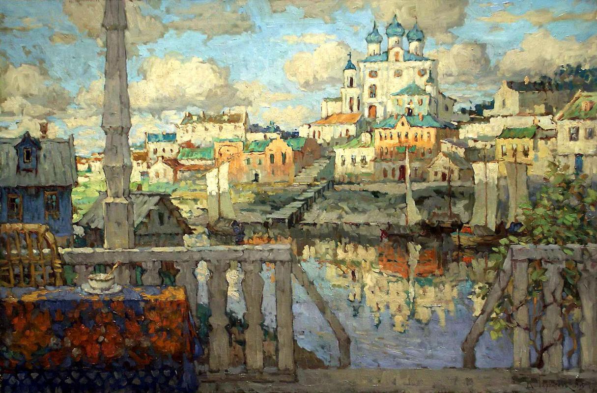 Konstantin Ivanovich Gorbatov. Pskov