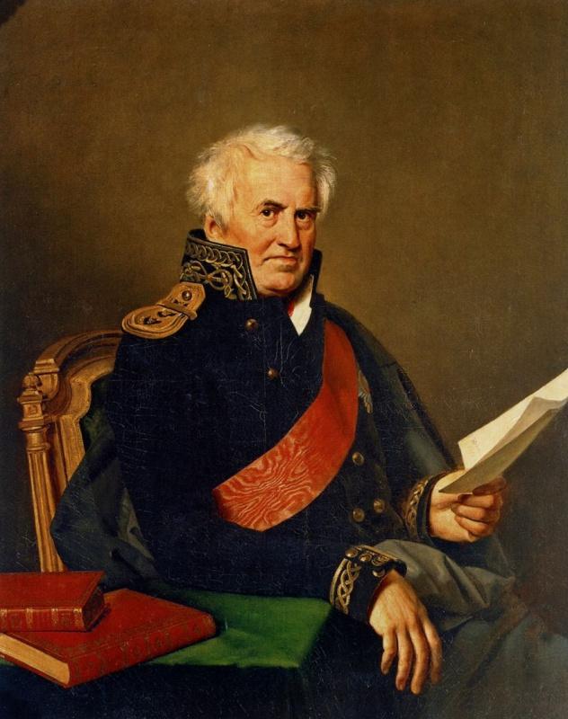 Портрет А. С. Шишкова в адмиральском мундире