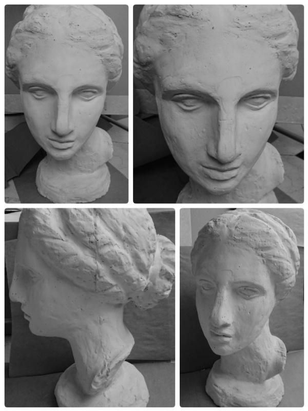 Julia Herzen-Lilly. Head Of Venus