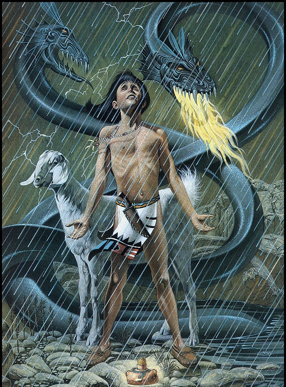 Давид Бек. Под дождем