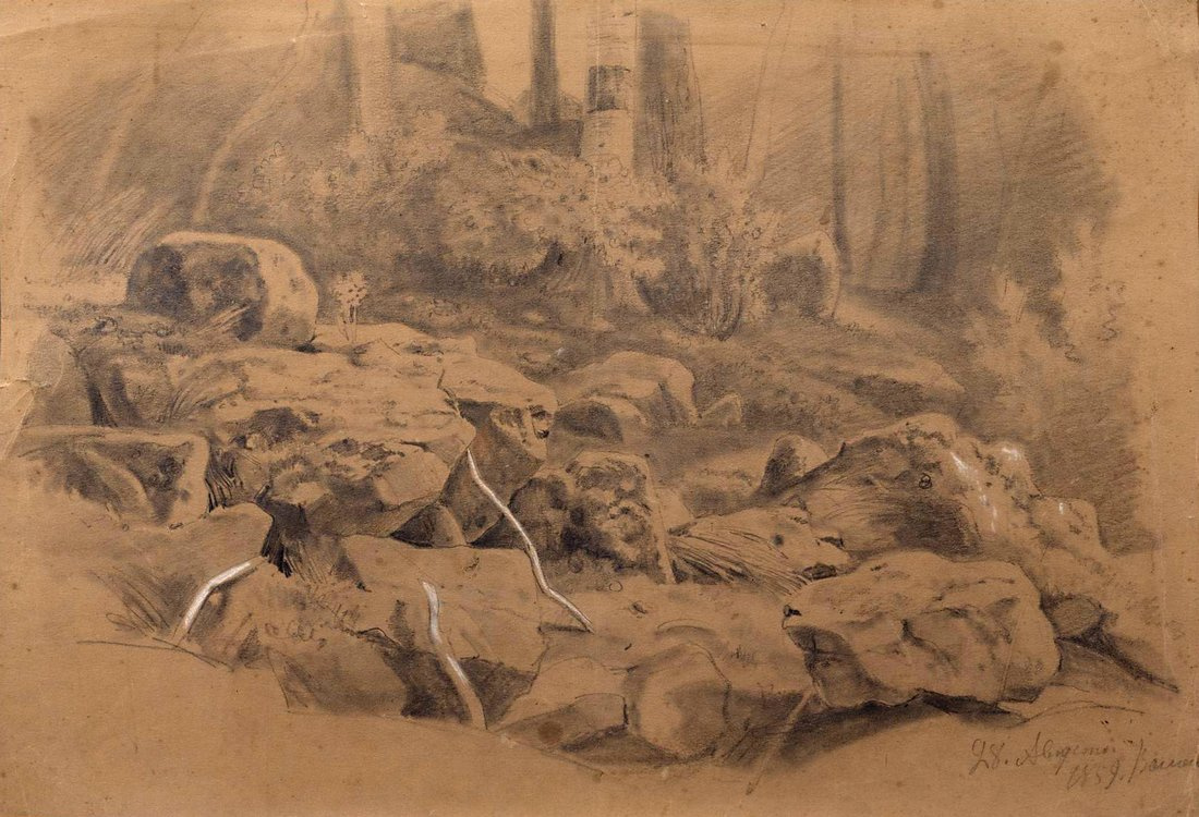 Ivan Shishkin. Stones