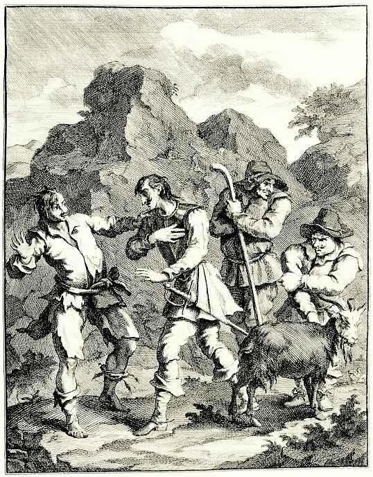 Уильям Хогарт. Рыцарь Скалы