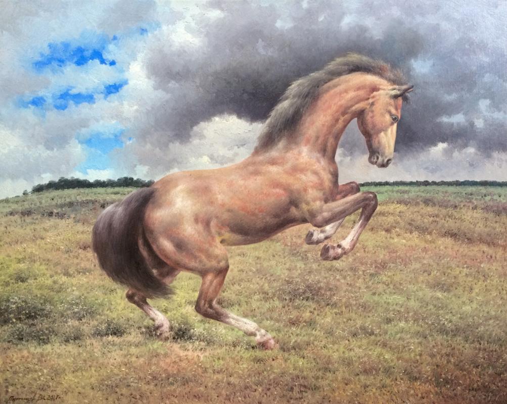 Vasily Ivanovich Gribennikov. Лошадь