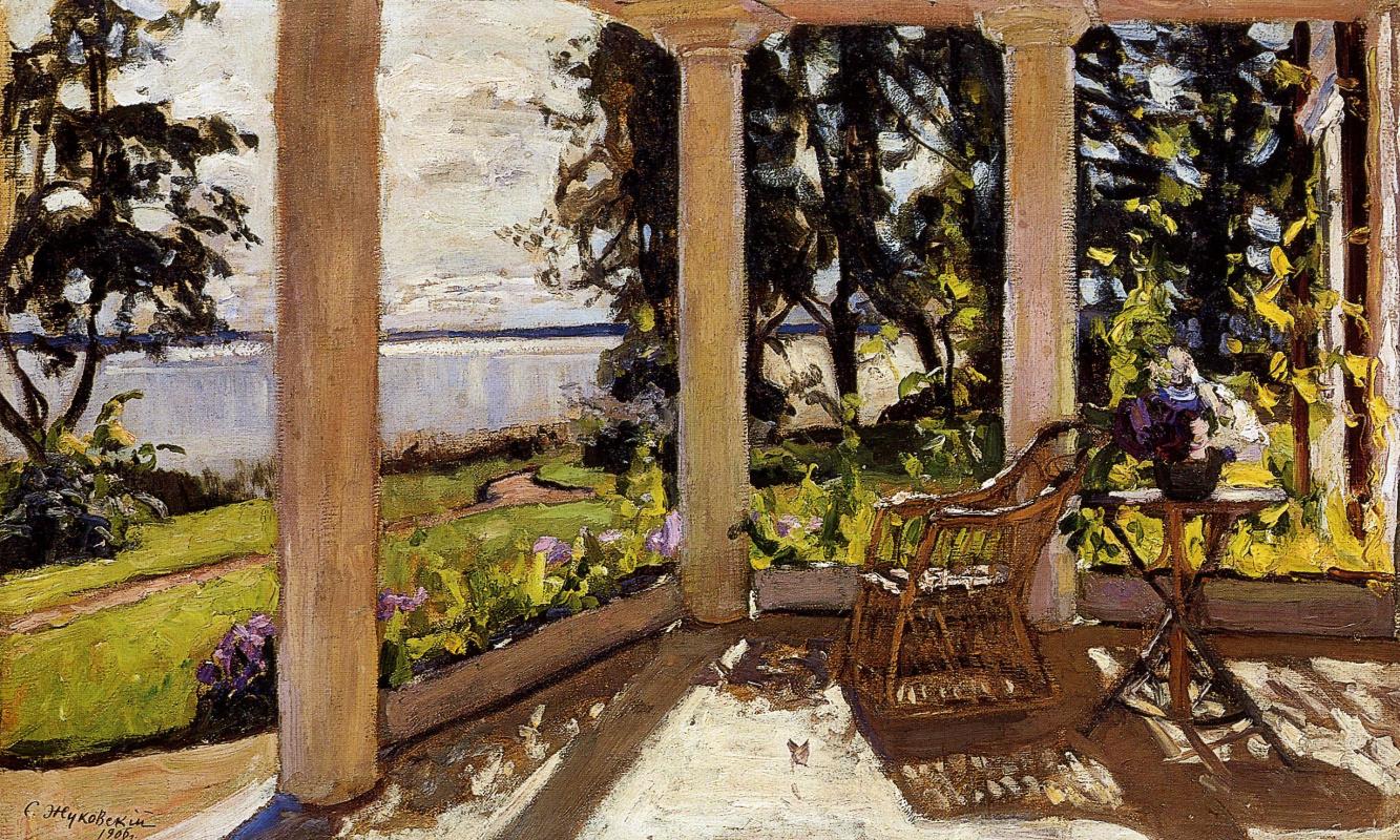 Stanislav Yulianovich Zhukovsky. Terrace