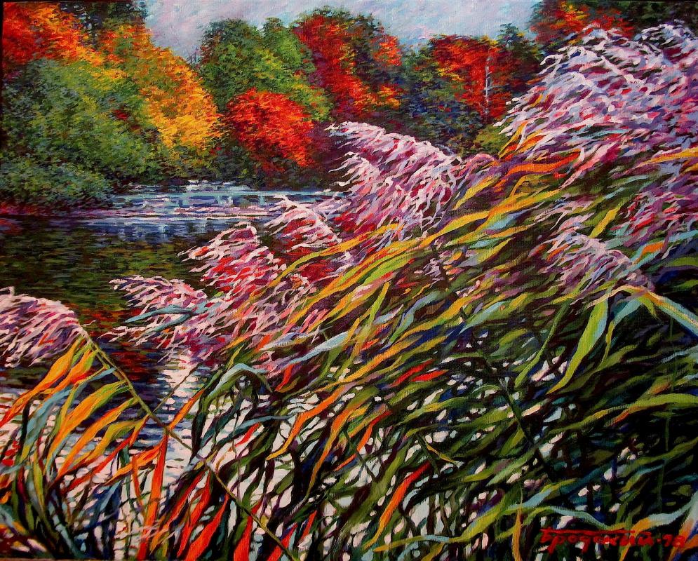 David Shikovich Brodsky. Autumn wind