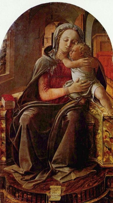 Filippino Lippi. Madonna