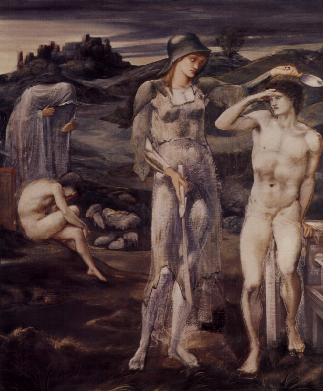 Edward Coley Burne-Jones. Summon Perseus