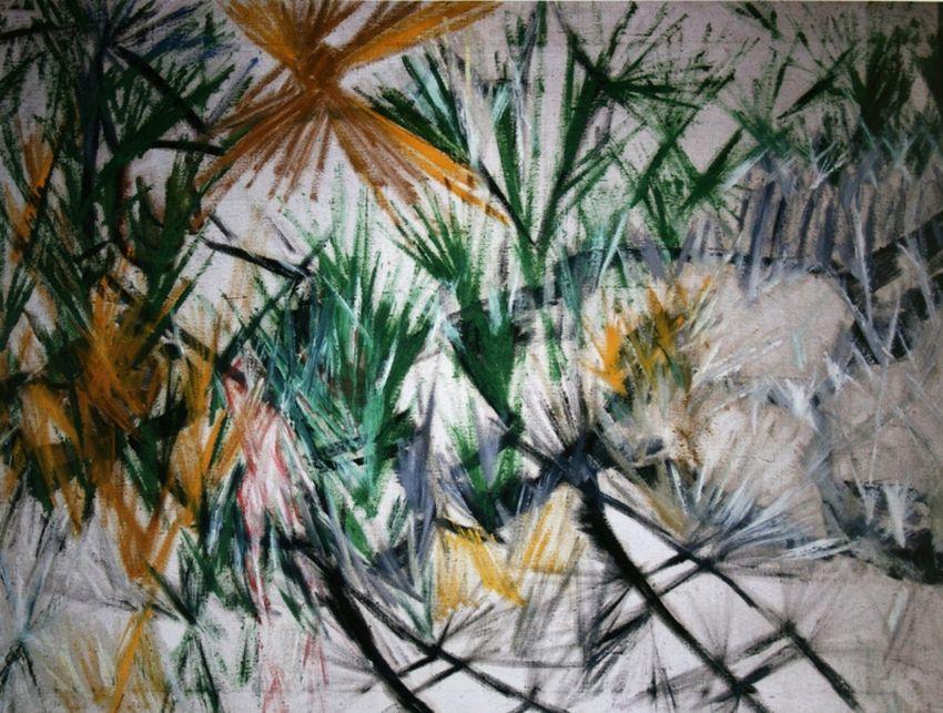Mikhail Larionov. Radiant landscape