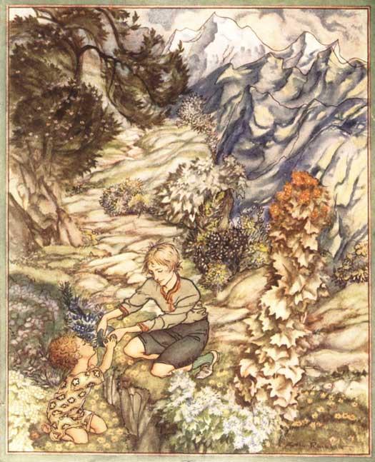 Артур Рэкхэм. Дети в лесу
