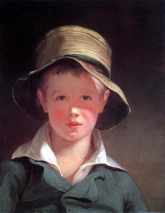Томас Салли. Мальчик в шляпе