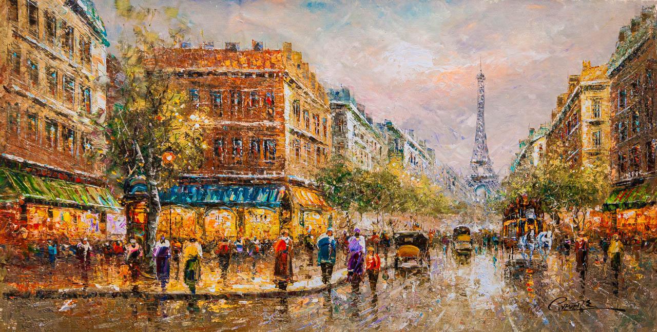 (no name). La Tour Eiffel (Вид на Эйфелеву башню)