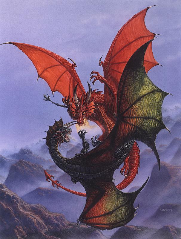 Пол Джаквейс. Дракон