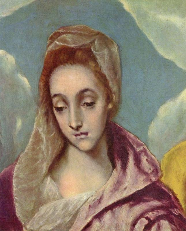Святое семейство со Святой Анной (фрагмент)